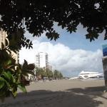La Playa de Colón desde la entrada de la Lonja...