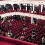 Зрительный зал городского театра Бадена.