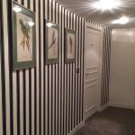 Le couloir vers les toilettes