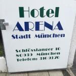 Hotel Arena Stadt München Foto