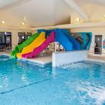 Heated Indoor Swimming Pool with Waterslide