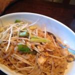 Pad Thai good - other entrees disappointing