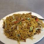 Chicken chow mein.