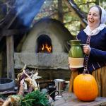 A Living History Educator at Plimoth Plantation's 17th-Century Village
