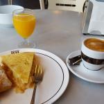 Excelente desayuno.