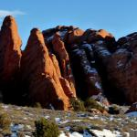Fins in Arches NP
