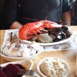 Maine Shore Dinner Platter