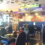 Cool American style diner