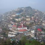 Nice view of Mokokchung town from the view point...