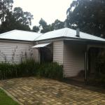 One of the other cottages at the Araluen Park