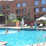 Nothing really except one minor detail - the pool was a trifle cold for my kids when compared to