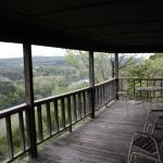 Cedar Ridge Cabin 2 deck