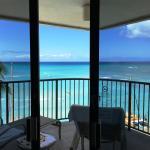 Veiw from ocean front room