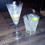 Great martini & margarita to start!