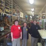 Unique old hardware store.  Kids loved it too