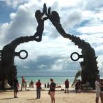 Monumento el Playa del Carmen del día 21/12/2012