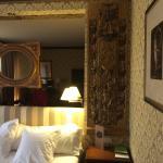 Detalhe do quarto do Meliá Saragoça