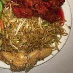 Sweet & Sour, Chow Mein, Vegetables