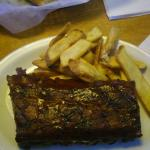 1/2 Slab Of BBQ Ribs....Delish!