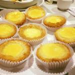 Traditional Hong Kong style egg tarts