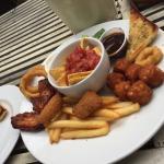 Sharing platter at the Windmill Inn, Stratford