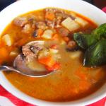 The Hugarian Goulash soup