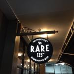 In the Miramar restaurant district a new spot recently made its debut; Rare 125.
