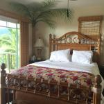 Valley View room queen bed