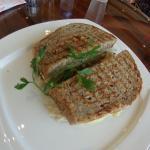 plain Rueben sandwich