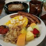 """Great food! Fun atmosphere.  We looove Das Cafe and Spring City. Order the """"Opa's Omelette"""" and"""