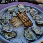 broiled oysters! these were divine!!
