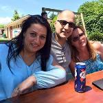 My wife Alia,Claire & Me
