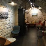 Brightly lit cellar space