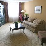 Wohnzimmer der Suite # 406