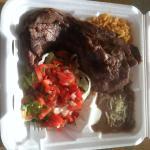 (#4) carne asada combo