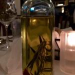 Rosemary-infuse olive oil. SO good!