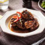 Estofado de pollo/ Stew chicken