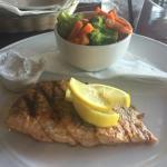 Prime rib and salmon