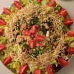 Salade variée Bio et graines germées
