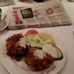 Onion Bhajis are a good size!