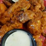 Chicken fingers shaken in hot. Delicious!