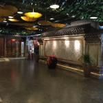 Tolles Hotel, von innen und außen, Traditioneller Retro Style wie im alten China