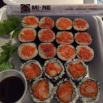 Spicy Tuna Roll, Spicy Salmon Roll, Spicy Scallop Roll
