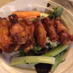 Mandarin chili wings yum
