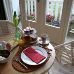 Breakfast with terrace in Kamar Bidadari room