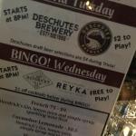 Bingo in the Bar