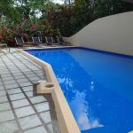 As soon as you enter Villa La Macha you are greeted by this refreshing pool!