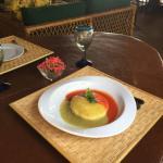 Una pequeña probadita De los deliciosos platillos preparados Por el Chef Octavio Ortega!!