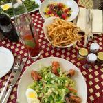lunch/ garden