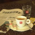 Nachmittags mal auf einen Espresso & Kuchen